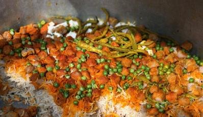 City Food – Rishabh Bhai's Veg Biryani, Anand Vihar