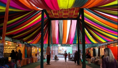 DILLI HAAT- The Famous Craft Bazaar Of The City.