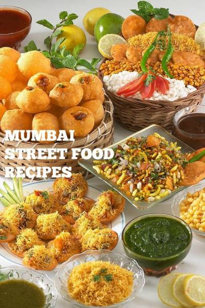 Top 35 Popular Mumbai Street Food Recipes | 35 Best Mumbai Street Food Recipes