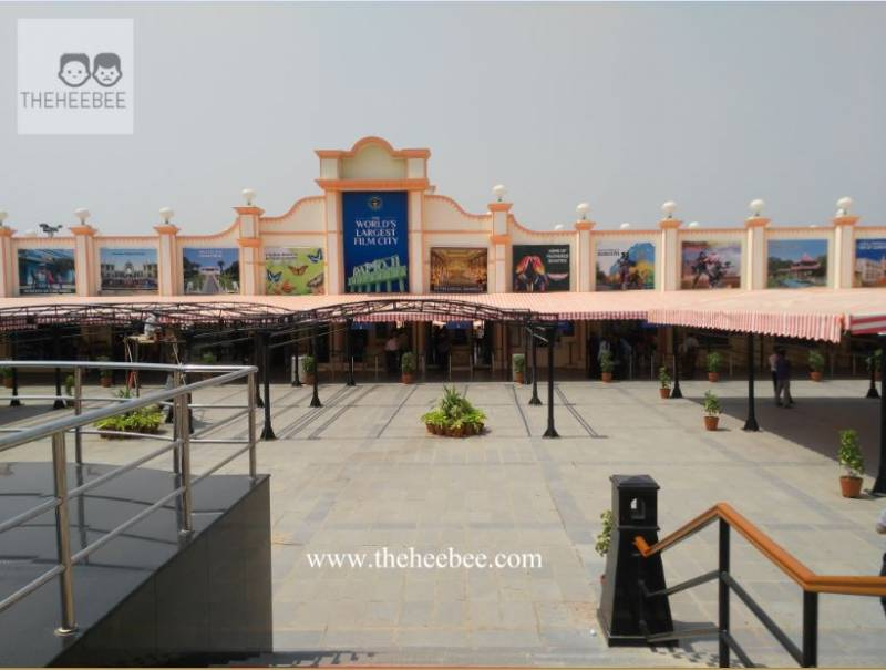 Visiting Ramoji Film City, Hyderabad - Theheebee