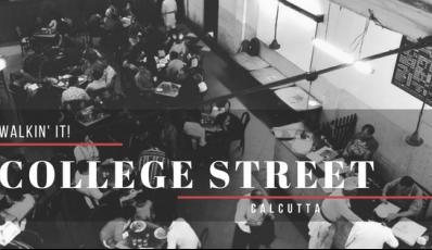 Walkin' It (Food Special): College Street, Calcutta