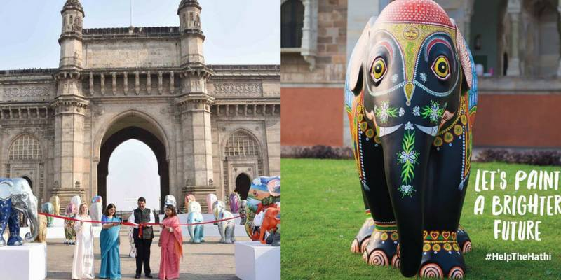 With 101 Designed Elephants, Mumbai Welcomes India's First Elephant Parade
