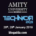 Technicia 2K19 – Amity University, Mumbai