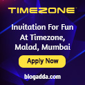 Invitation For Fun At TimeZone, Malad, Mumbai