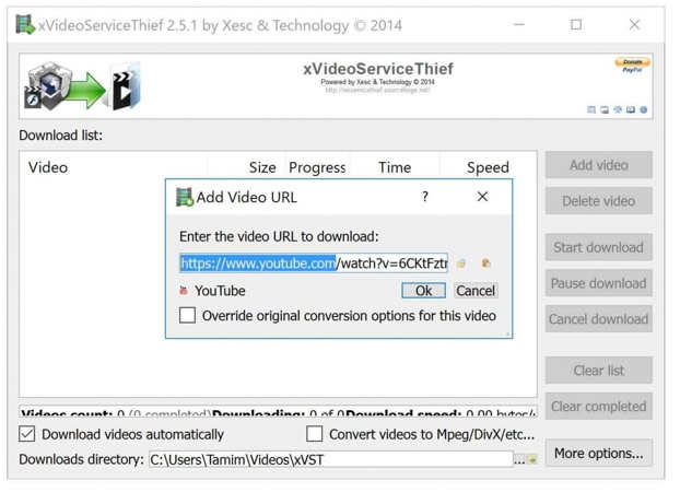 Xvideoservicethief os linux download