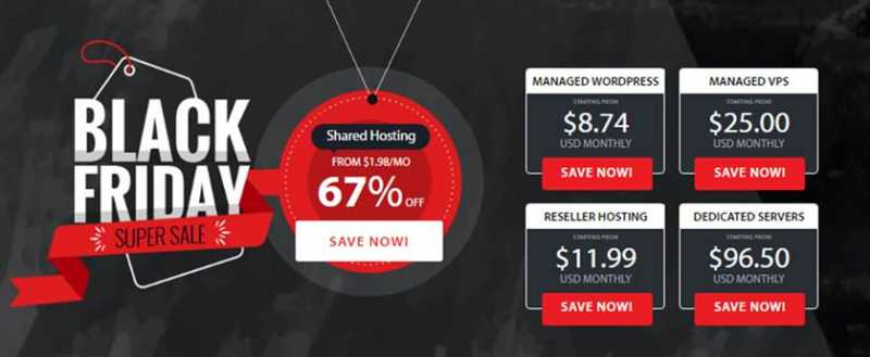 {67% Off} A2 Hosting Black Friday & Cyber Monday Deals 2018{$1.98/month}