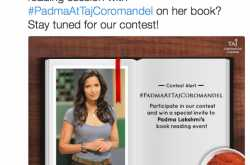 [book] a contest, a win and meeting padmalakshmi..