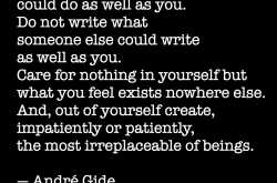 #quoted: do not write what someone else could…