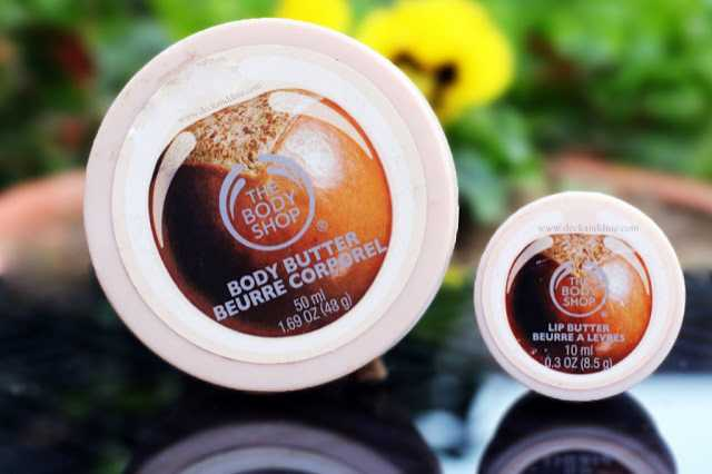 Review: The Body Shop Shea Body Butter And Shea Lip Butter