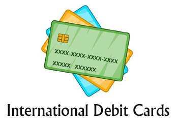 10 International Debit Cards - Benefits, Features