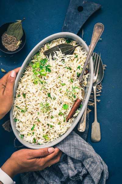 10 Minutes Perfect Jeera Rice Recipe { Indian Cumin Rice }