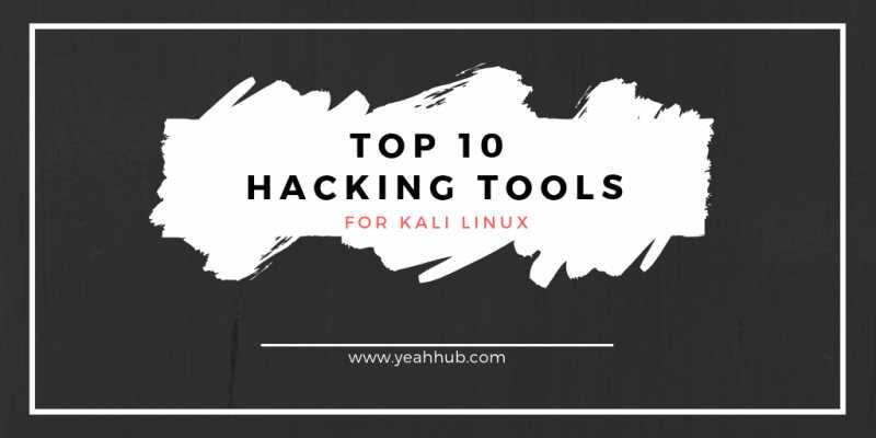 Yeah Hub Blogs 10 Most Popular Useful Kali Linux Hacking Tools