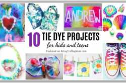 10 Tie Dye Projects for Kids and Teens