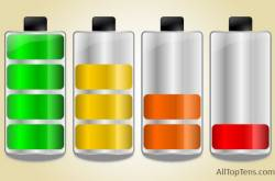 10 Tips to improve battery life of your Android Smartphone - AllTopTens.com