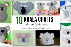 10 Adorable Koala Crafts for Australia Day