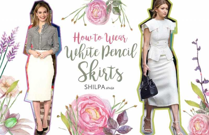 11 Ways To Wear A White Pencil Skirt For All Body Types + Occasions