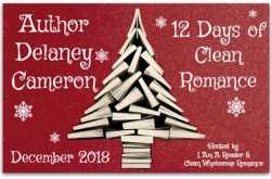 12 days of clean romance - the gift of love by delaney cameron-$25 #giveaway and #sale