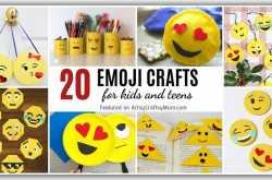 20 Emoji Crafts for Kids and Teens   World Emoji Day Crafts