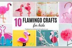 20 Fancy Flamingo Crafts for Kids