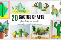 20 Cute Cactus Crafts For Kids