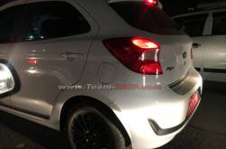 2019 Ford Figo Facelift spotted testing in India for the first time