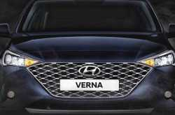 2020 Hyundai Verna facelift images out