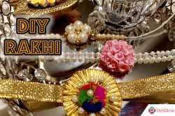 3 peculiar rakhi designs to handcraft this raksha bandhan - desidime
