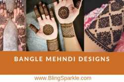45 trending bangle mehndi designs for hands || kangan mehndi designs