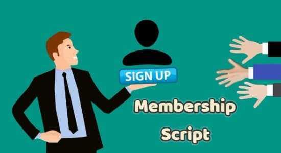 7 Best PHP Membership Script 2019 [Start Membership Site In Minutes]