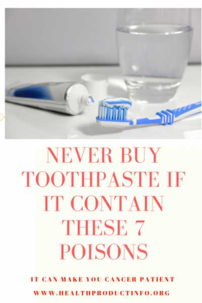 7 SHOCKING HARMFUL FACTS ABOUT TOOTHPASTE