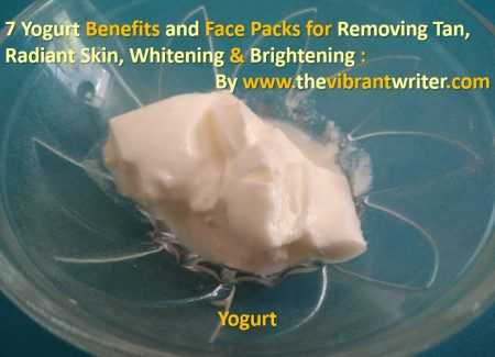 7 Yogurt Benefits And Face Packs For Removing Tan, Radiant Skin, Whitening & Brightening