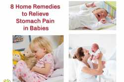 8 Home Remedies to Relieve Stomach Pain in babies