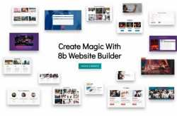 8b website builder review: free & simple to use online builder