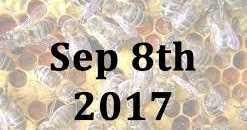 8th September 2017