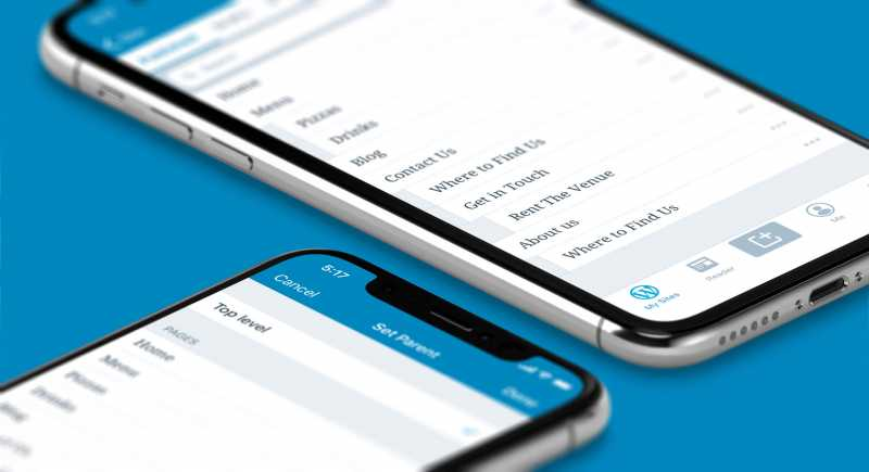 A New Way To Manage Your Pages On The WordPress Mobile Apps