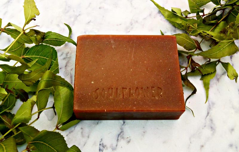 A Review Of Soulflower Neem Henna Soap.