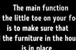 a toe