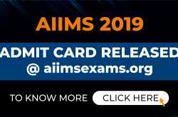 aiims admit card 2019: all india institute of medical sciences released aiims admit card 2019 at aiimsexams.org