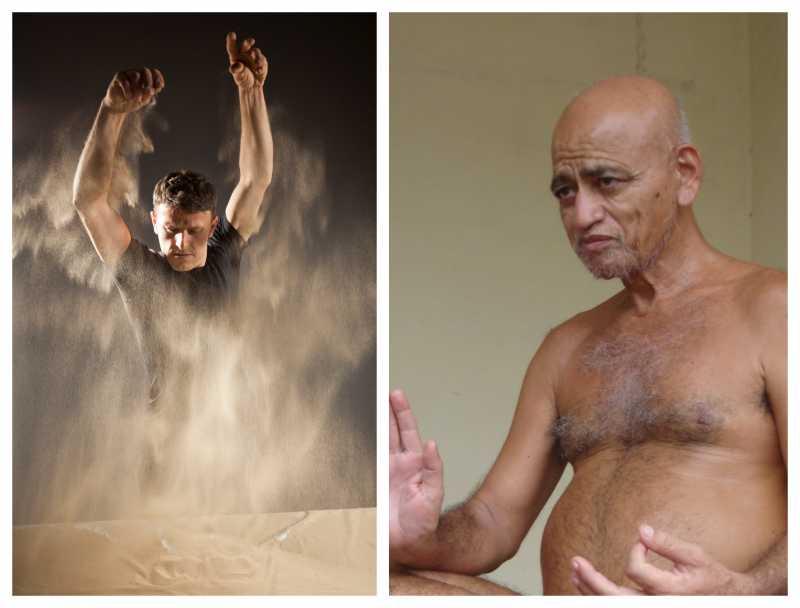 Acharya Vidyasagar's Life Depicted Through Sand Art By Artist Fatmir Mura In Vidyoday