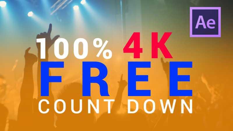 raj kiran k blogs after effects countdown template free download