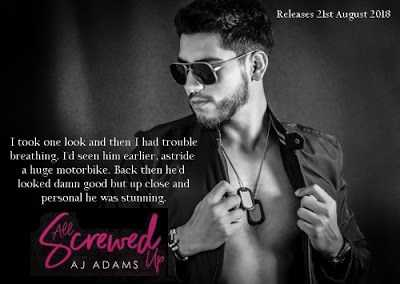 All Screwed Up By A J Adams - Book Tour