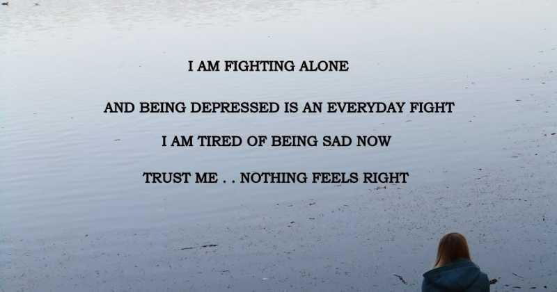 Shubhanshu Tiwari Blogs Alone Girl Sad Quotes 3 Blogadda