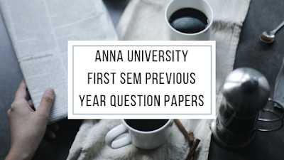 Madhu Mathi Blogs Anna University 1st Semester Previous Year