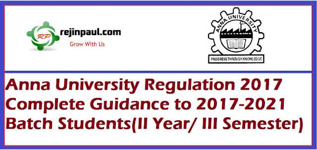 N R REJIN PAUL Blogs Anna University Regulation 2017 CBCS