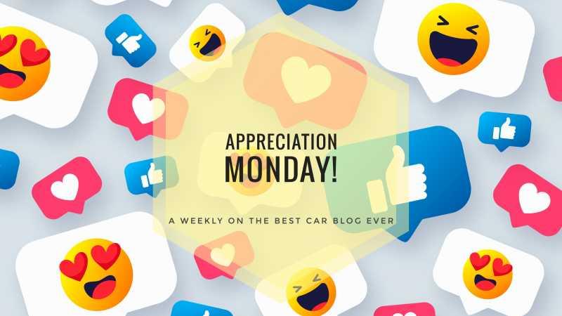 Appreciation Monday - Week 3, 4 & 5 - The Best CAR Blog Ever