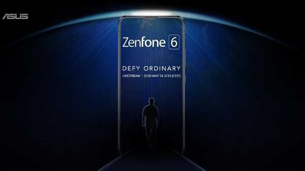Asus Teases For Zenfone 6 With No-Notch Display; Launch On 16 May | TechnoArea