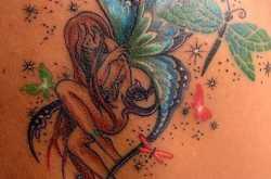 attractive back tattoos designs for women - tattoosera