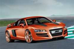 Audi R8 Sports Car & Chevy ZR1