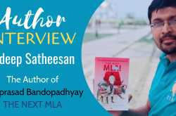 author interview: sudeep satheesan | the author of