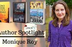 author spotlight : monique roy